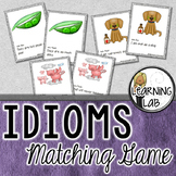 Idioms Matching Game - Figurative Language