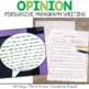 Persuasive Writing Paragraphs