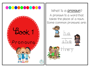 Say, Write & Wipe- Pronouns