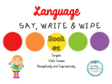 Say, Write & Wipe- Verb Tenses!