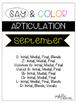 Say and Color Articulation 9 month Mega Bundle