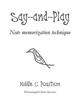 Say-and-Play: Middle C Position