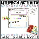 Say it, Build it, Stamp it! With Editable Word Cards