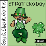 St. Patrick's Day Syllables