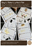 Say it Make it Write it Mat - For numbers, cvc words, sight words and more!