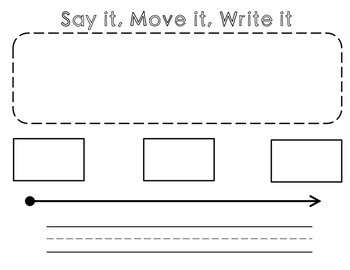 Say it, Move it- Phoneme Segmentation