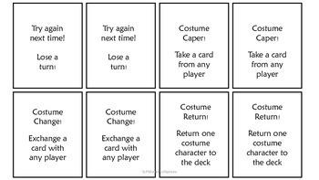 Say it like a Costume Character!  A game to address prosody.