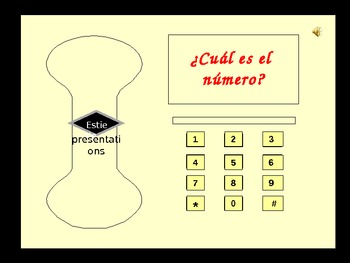 Say the phone number aloud in Spanish