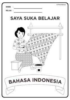 Saya Suka Belajar Bahasa Indonesia Book Covers (Sampul Buku Series 2)