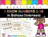 Saya tahu angka 1-10 morning work binder numbers fun activ