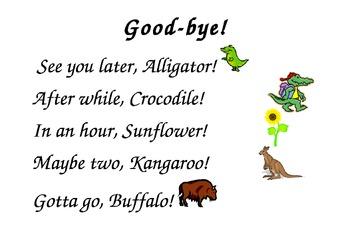 Saying Goodbye - Poster