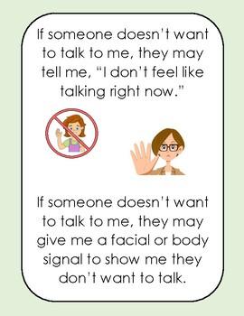 Saying Hello Social Story