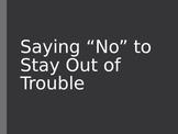 Social Skills - 'Saying No' PowerPoint