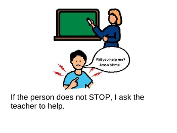 Saying Stop: A social story for children
