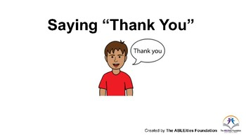 "Saying ""Thank You"" Social Story"