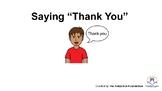 "Saying ""Thank You"" Social Story"