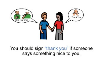 how to say thank you in american sign language