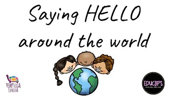 Saying hello in different countries
