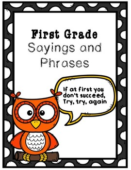Sayings & Phrases Activity Book: Core Knowledge