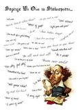 Sayings We Owe to Shakespeare
