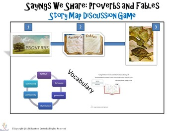 Sayings We Share Proverbs and Fables Games and Activities