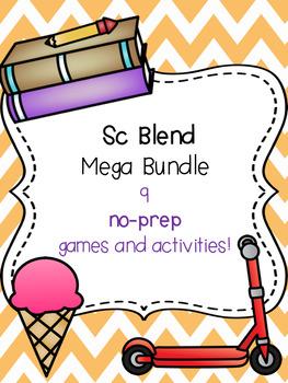 Sc Blend Mega Bundle! [9 no-prep games and activities]