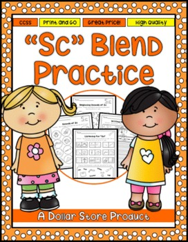 Sc Blend Practice Printables Pack