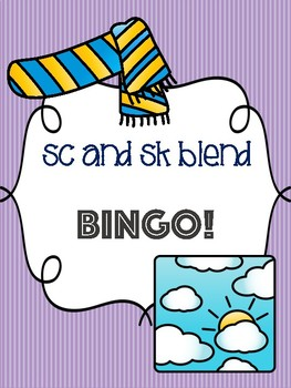 Sc and Sk Blend Bingo [10 playing cards]