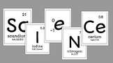 ScIeNCe Element Word Poster