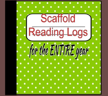 Scaffold Reading Log for the ENTIRE year
