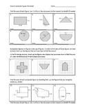 Scaffolded Area of Composite Figures Worksheet