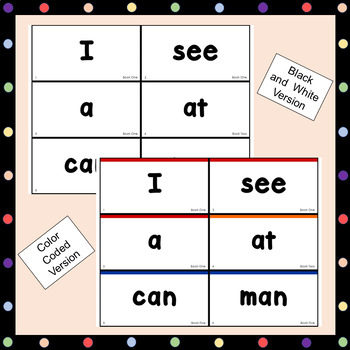 Scaffolded Guided Reading Series High Frequency Words Flash Cards - Medium Print