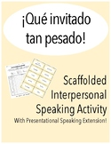 Scaffolded Interpersonal Speaking Activity in Spanish with