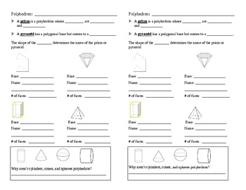 Scaffolded Notes for Polyhedron