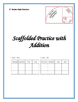 Scaffolded Practice with Addition