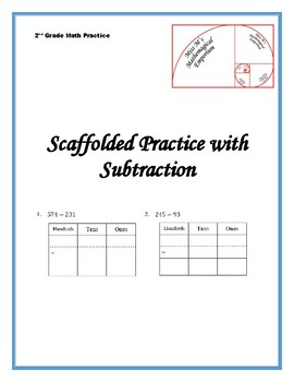 Scaffolded Practice with Subtraction