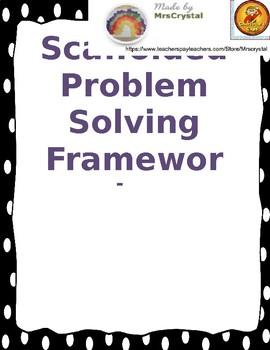 Scaffolded Problem Solving Framework (editable)