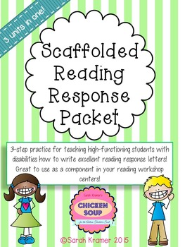 Scaffolded Reading Response Packet