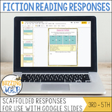 Scaffolded Reading Responses: Fiction for Google Drive™ -
