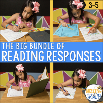 Scaffolded Reading Responses: The BIG Bundle!