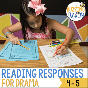 Scaffolded Reading Responses for Drama and Plays: great for notebooks!