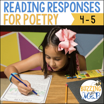 Scaffolded Reading Responses for Poetry: great for notebooks!