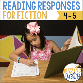 Scaffolded Reading Responses for Fiction Text: great for notebooks!