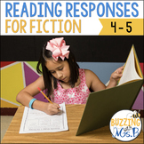 Scaffolded Reading Responses for Fiction Text: great for n