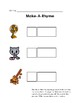 Scaffolded Rhyming Printables - Set B