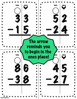 Subtraction With Regrouping-BUNDLE