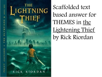 Scaffolded The Lightening Thief Themes