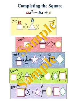Scaffolding Completing the Square - Magic Solver