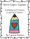 Scaffolding - Opinion Writing Graphic Organizer