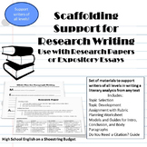Scaffolding Support for Research Writing, Differentiate fo